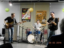Alex  GRENIER  « Power  Trio »